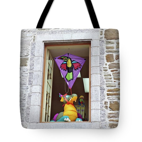 Tote Bag featuring the photograph How Much Is That Dragon In The Window by John Schneider