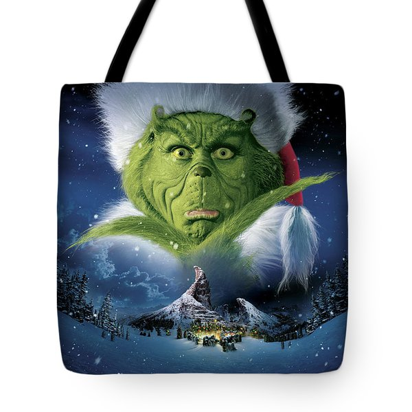 How The Grinch Stole Christmas 2000  Tote Bag