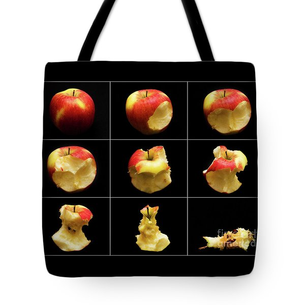 How To Eat An Apple In 9 Easy Steps Tote Bag