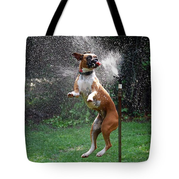 How To Handle A Heat Wave Tote Bag by Skip Willits