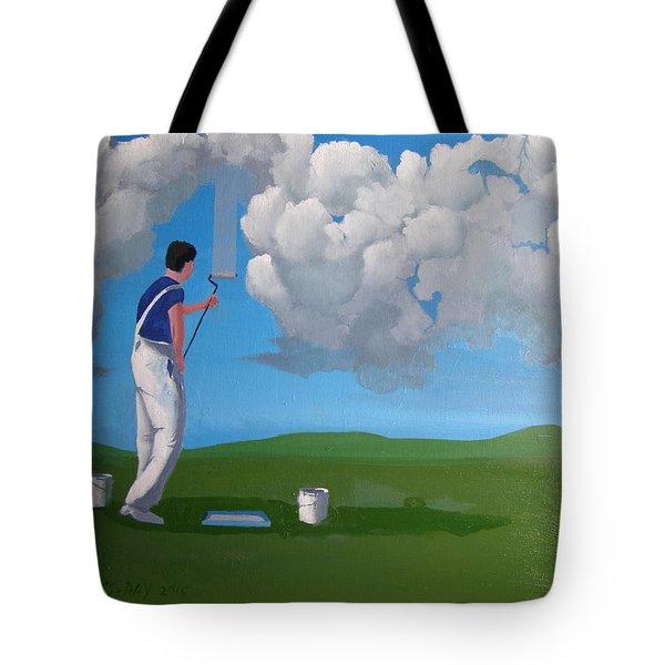 How To Paint A Shetland Sky Tote Bag