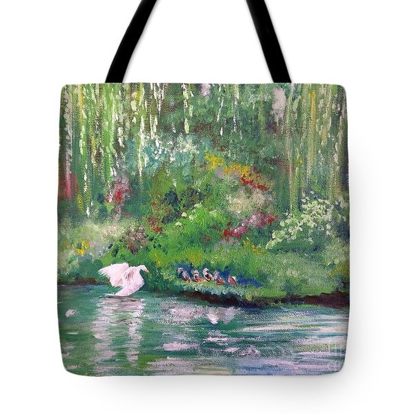 How To Swan Tote Bag