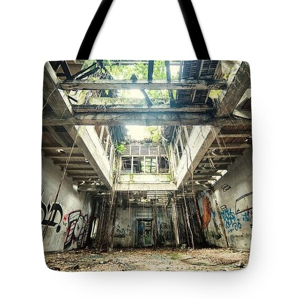 Tote Bag featuring the photograph How Long Was I Really Away / Art Abstract by Sheila Mcdonald