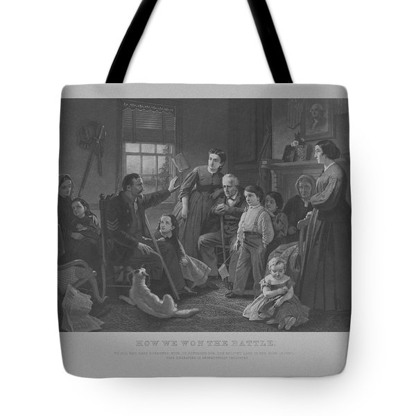 How We Won The Battle Tote Bag