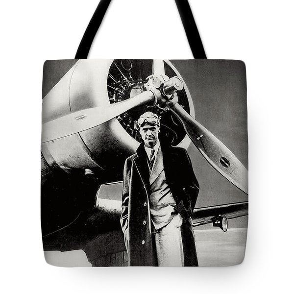 Howard Hughes - American Aviator  Tote Bag