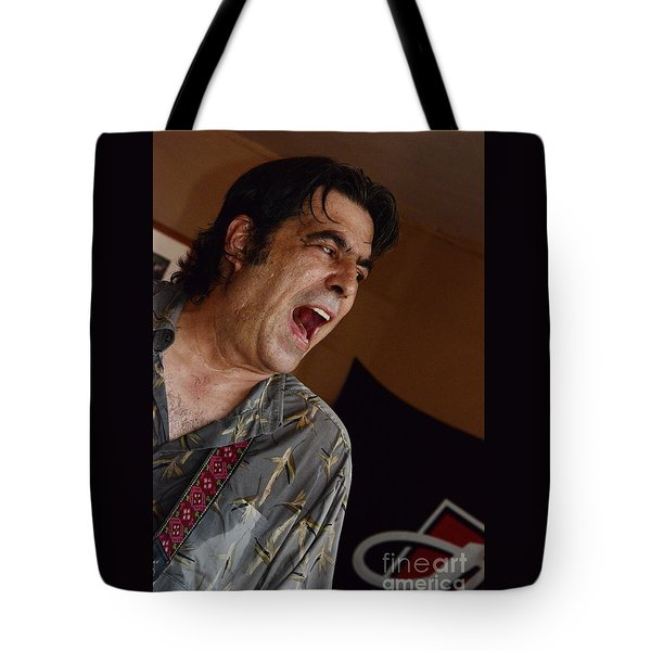 Tote Bag featuring the photograph Howlin' Wolf  by Jesse Ciazza