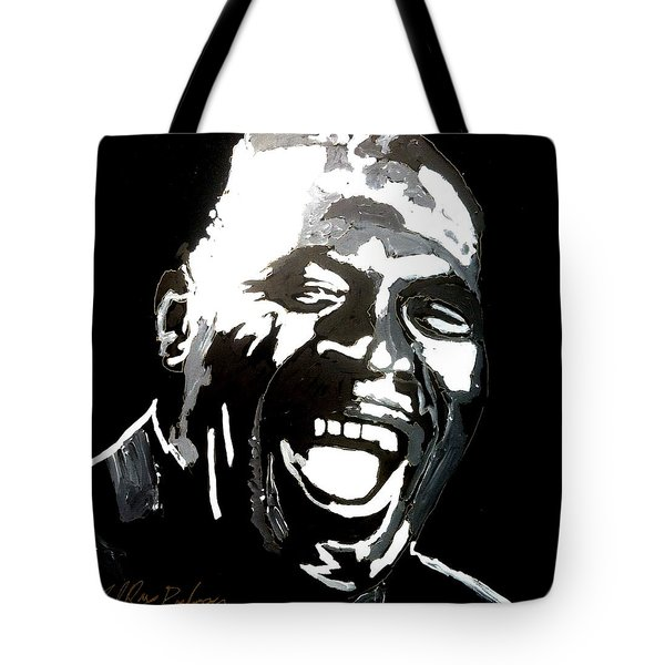 howlin Wolf Tote Bag