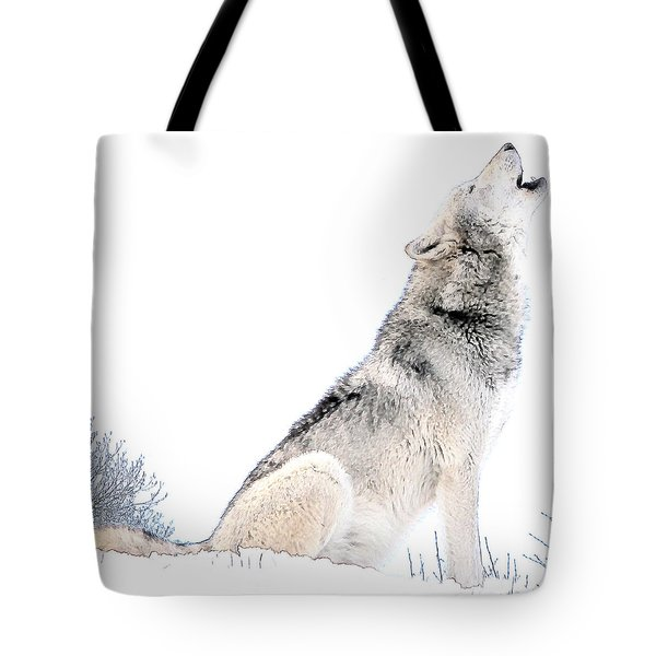 Howling Wolf 1 Tote Bag