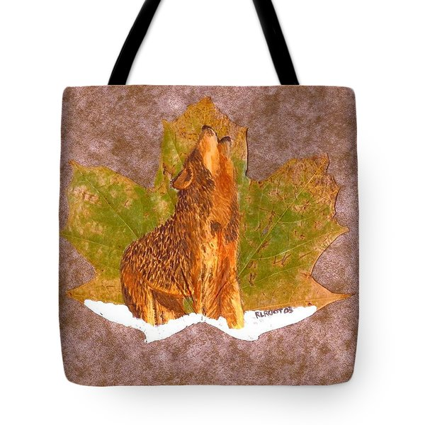 Howling Wolf Tote Bag