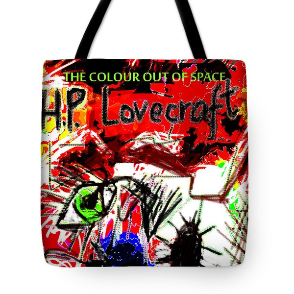 Hp Lovecraft Poster  Tote Bag