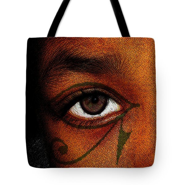 Hru's Eye Tote Bag by Iowan Stone-Flowers