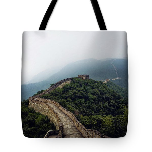 Tote Bag featuring the photograph Huairou by Lucian Capellaro