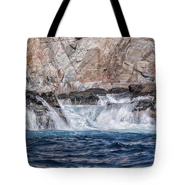 Tote Bag featuring the photograph Huatulco's Texture by Ana Mireles