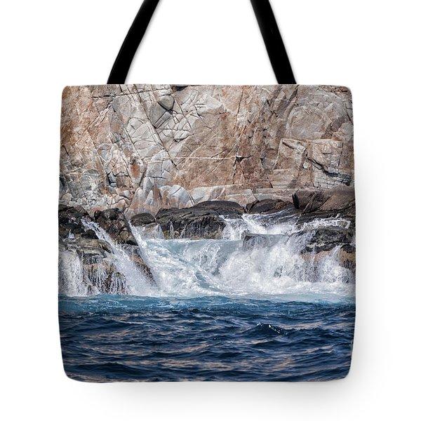 Huatulco's Texture Tote Bag