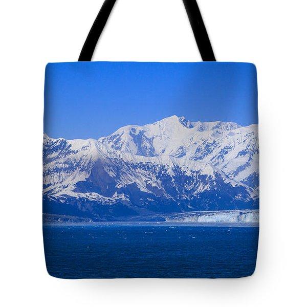 Hubbard Glacier Tote Bag by Allan Levin