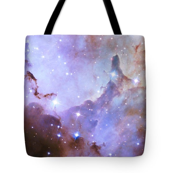 Tote Bag featuring the photograph Hubble Space Telescope Celebrates 25 Years Of Unveiling The Universe by Nasa