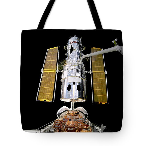 Hubble Telescope Redeployment Tote Bag by Jennifer Rondinelli Reilly - Fine Art Photography