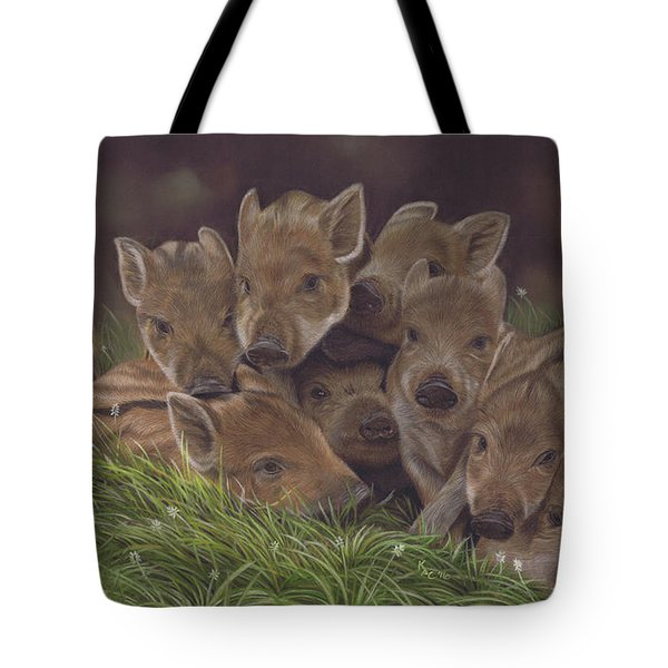 Huddle Of Humbugs Tote Bag