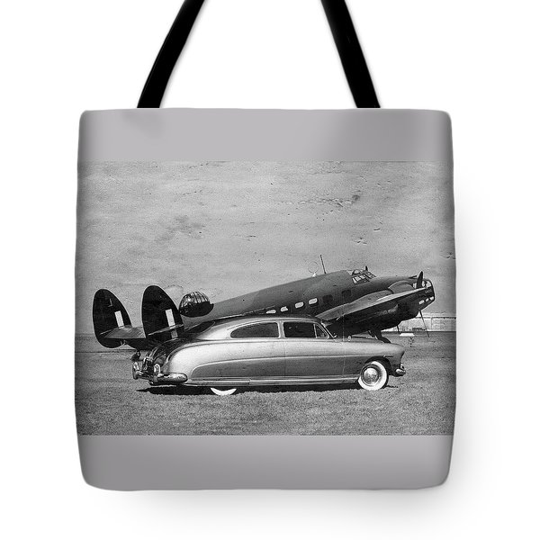 Hudson And Hudson Tote Bag by Steven Agius