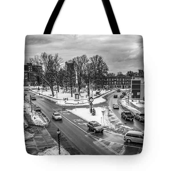 Hudson Falls Business District Tote Bag