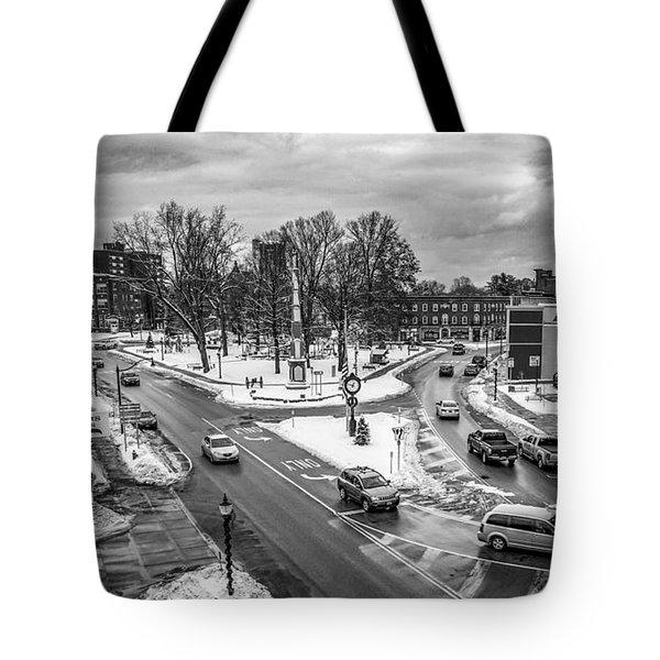 Hudson Falls Business District Tote Bag