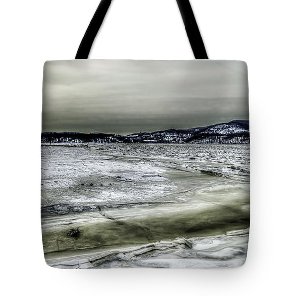 Hudson River Cold Spring, New York Tote Bag by Rafael Quirindongo