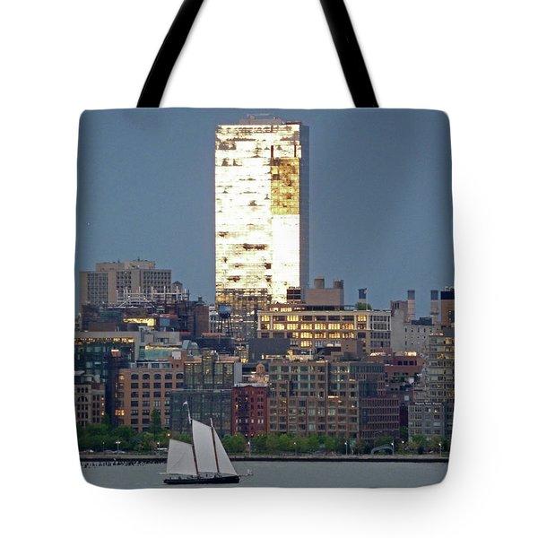 Hudson River Sail Tote Bag