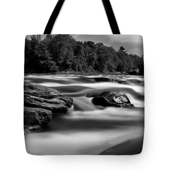 Hudson River Solice Tote Bag by Darleen Stry