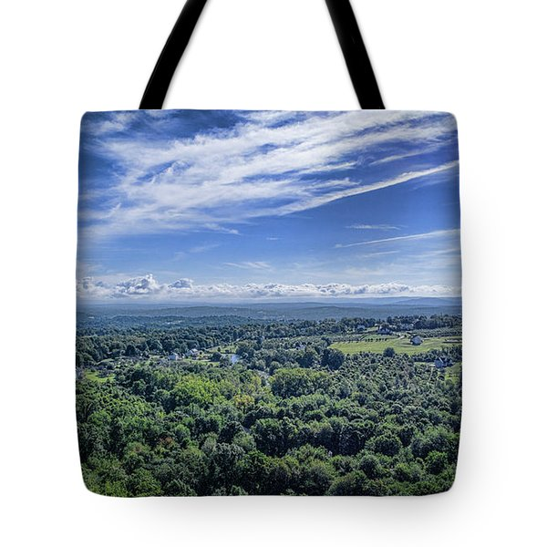 Hudson Valley View Tote Bag