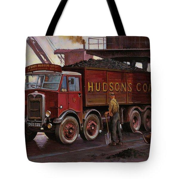 Hudsons Coal. Tote Bag by Mike  Jeffries