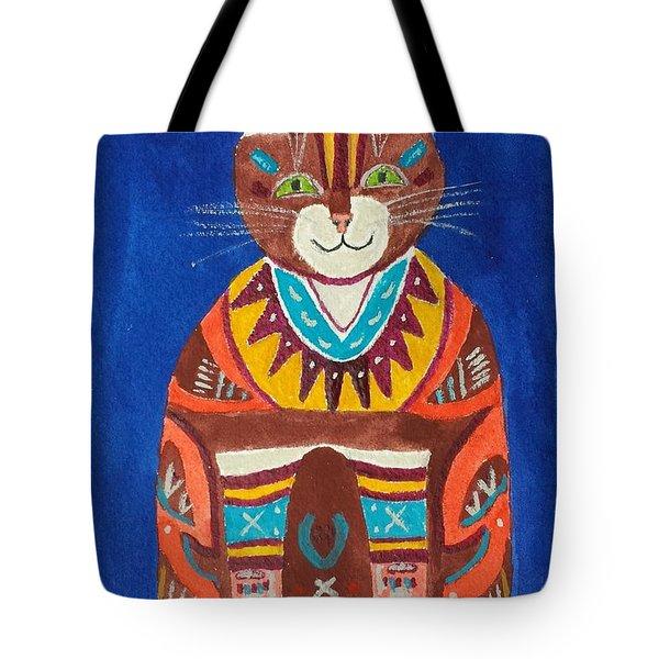 Huey Cat Tote Bag