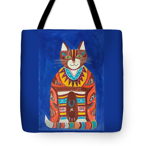 Huey Cat Tote Bag