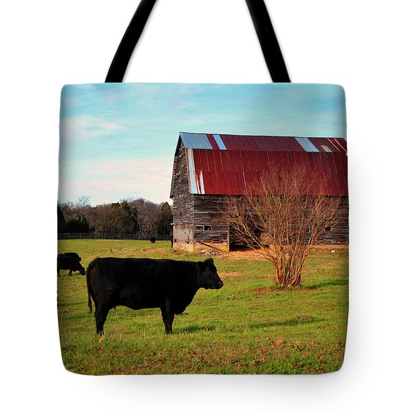 Huffacker Farm Tote Bag