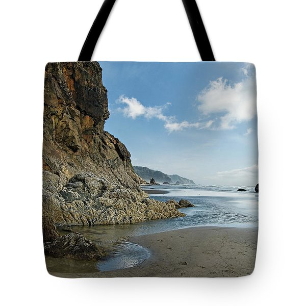 Hug Point Beach Tote Bag