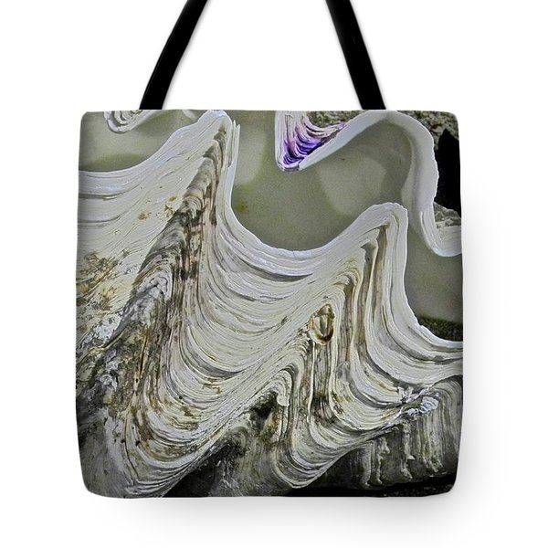 Huge Clam Shell Tote Bag