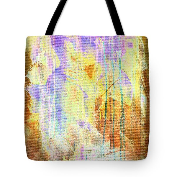 Hugging Canvas Tote Bag
