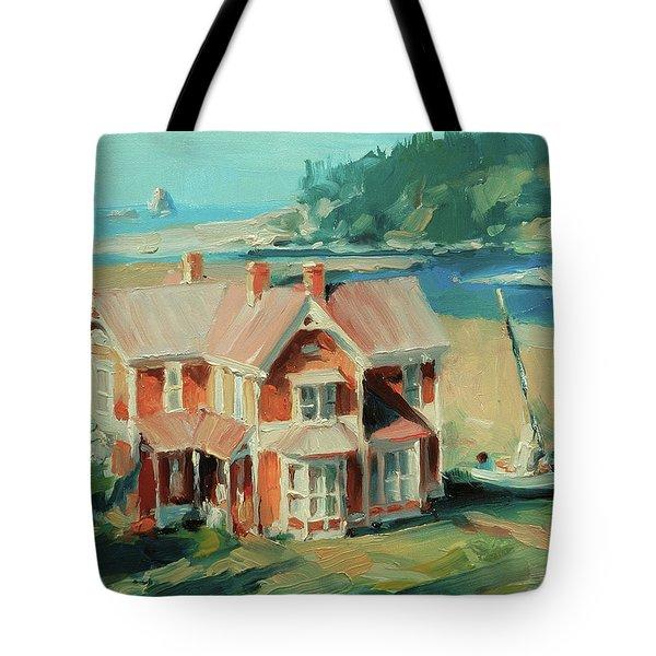 Hughes House Tote Bag