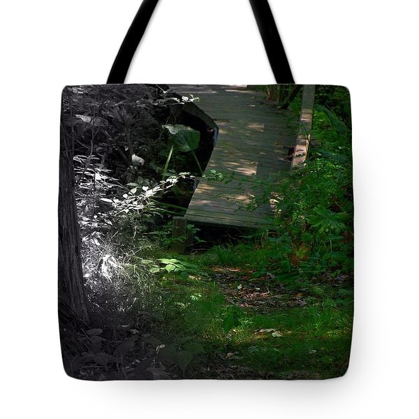 Hugh's Bridge Tote Bag