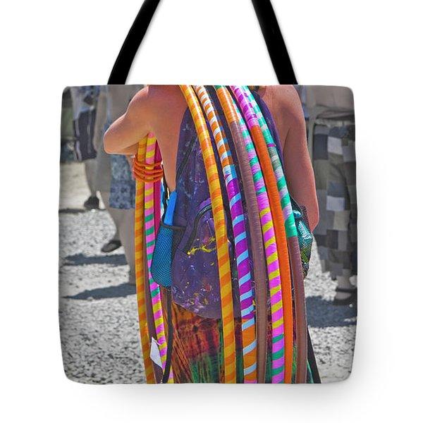 Miz Hula Hoop  Tote Bag