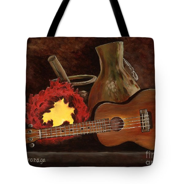 Hula Implements Tote Bag