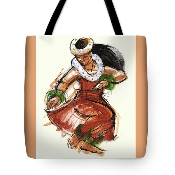 Hula Kona Tote Bag