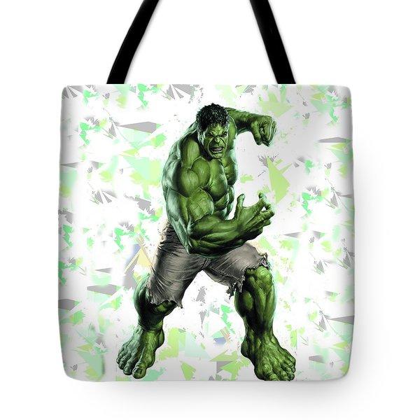 Hulk Splash Super Hero Series Tote Bag
