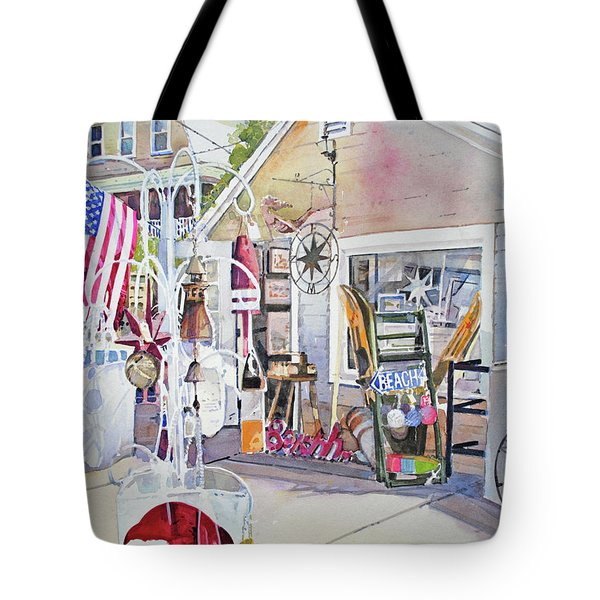 Hull Of A Shoppe Tote Bag