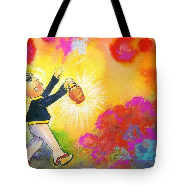 Hum Spreading Chi Tote Bag