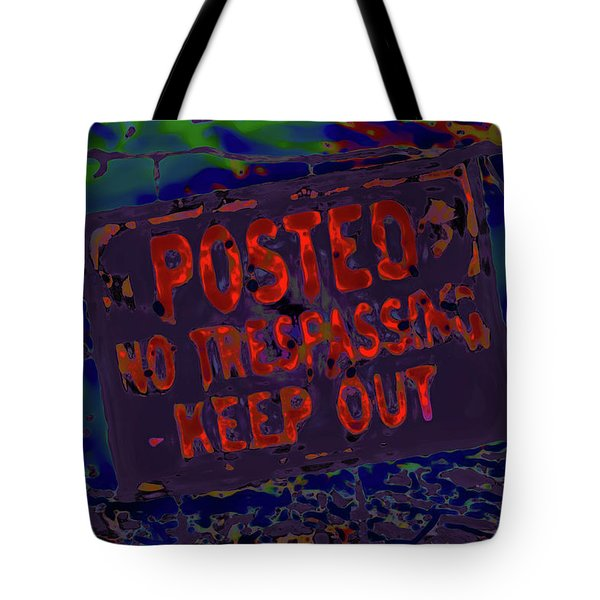 Human Barriers To The Subsconscious Tote Bag by Gina O'Brien