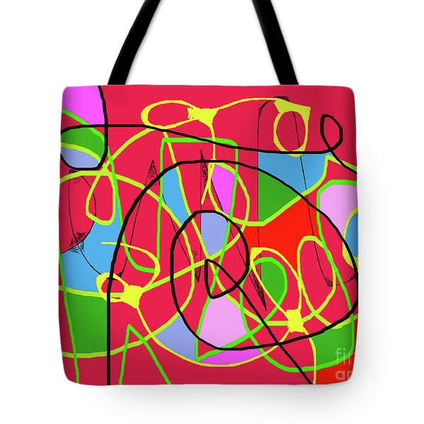 Communication Tote Bag