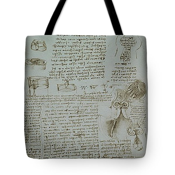 Human Study Notes Tote Bag by James Christopher Hill