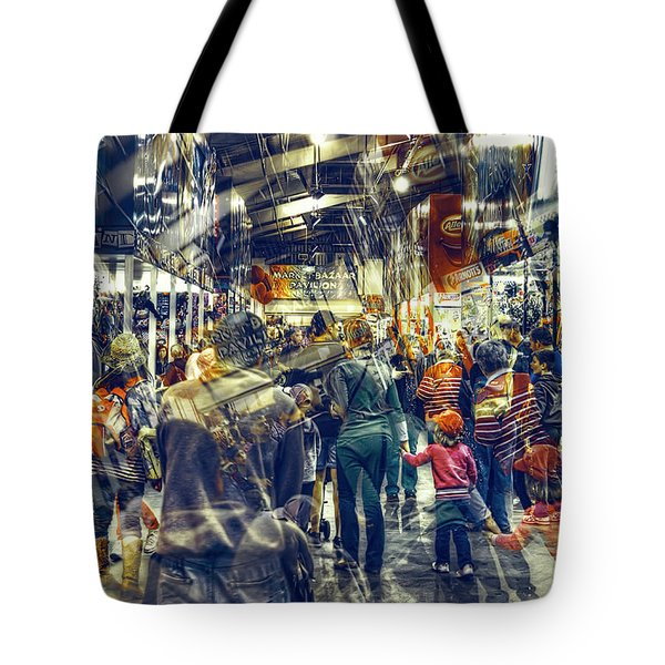 Human Traffic Tote Bag