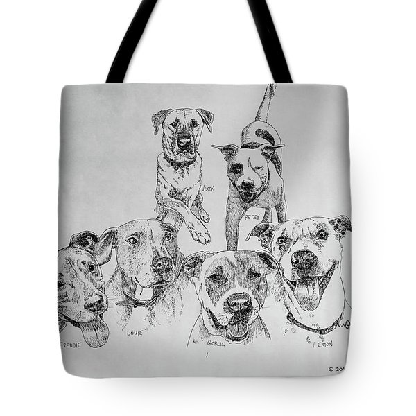 Humane Society Gang Tote Bag