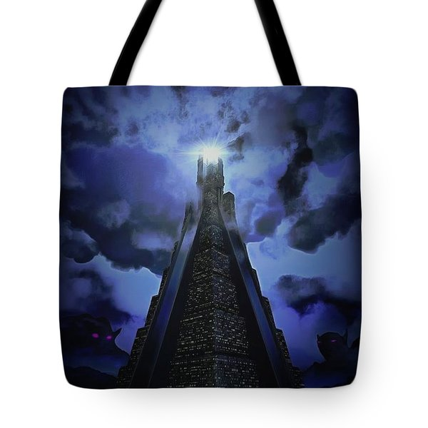 Humanity's Last Stand Tote Bag